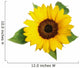 Sunflower Fig Sets Wall Decal
