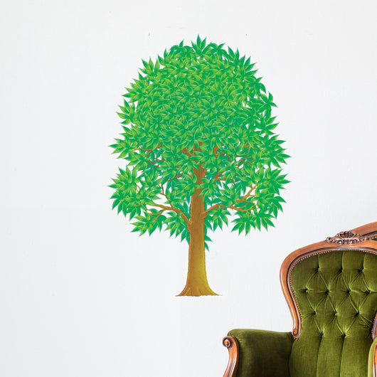 Green Tree Wall Decal