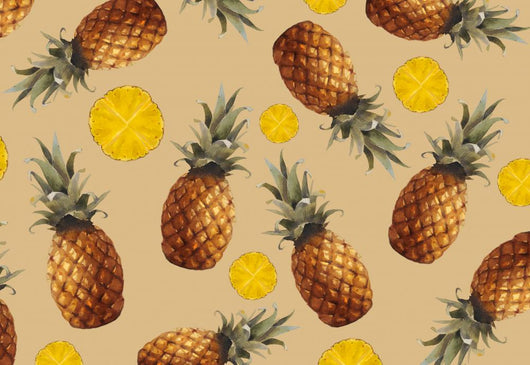 Fresh Pineapple Wall Decal