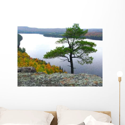 Lake Scenery Wall Decal