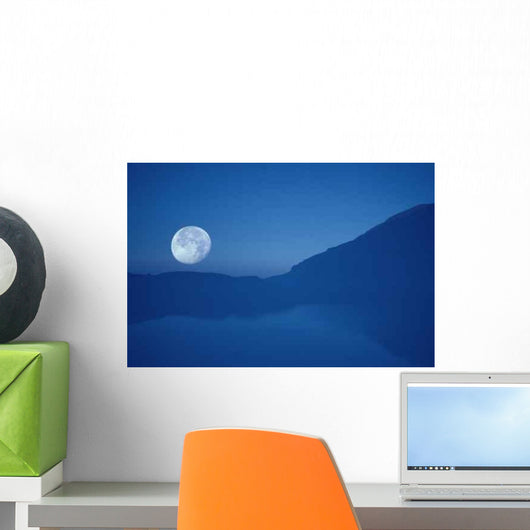 Moon Wall Decal Design 5
