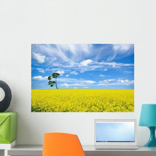 Single Tree 2 Wall Decal