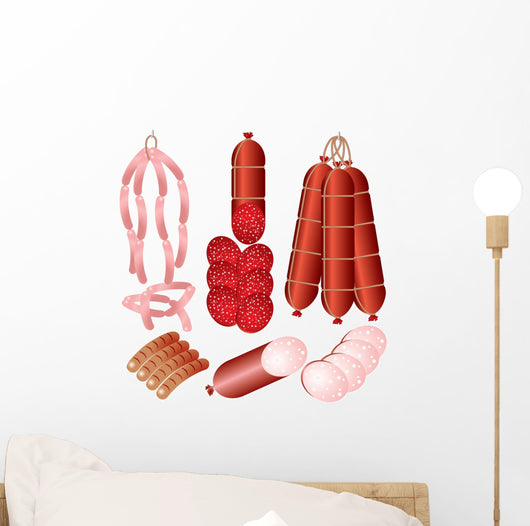Meat Products Wall Decal