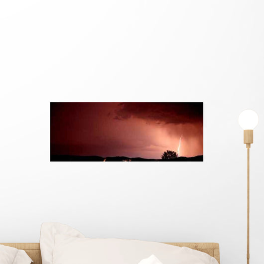 Blitzgewitter Wall Decal