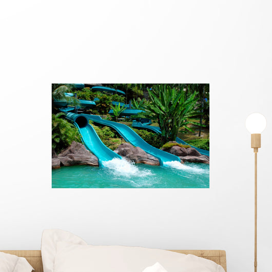 Water Slide Wall Decal