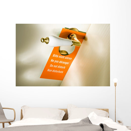 Please Do Not Disturb Wall Decal