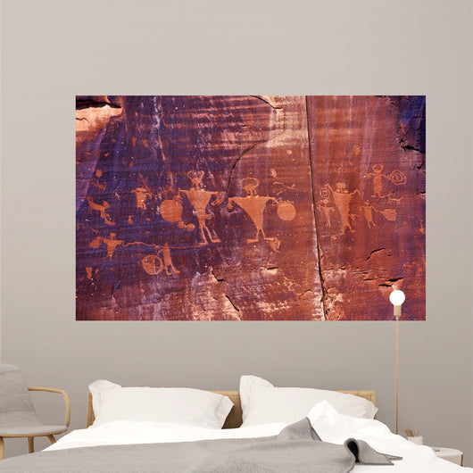 Petroglyphs Wall Decal
