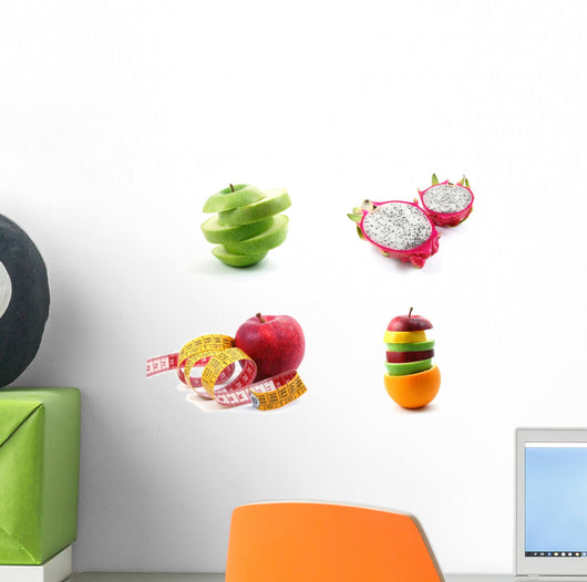 Fruit Collection Wall Decal