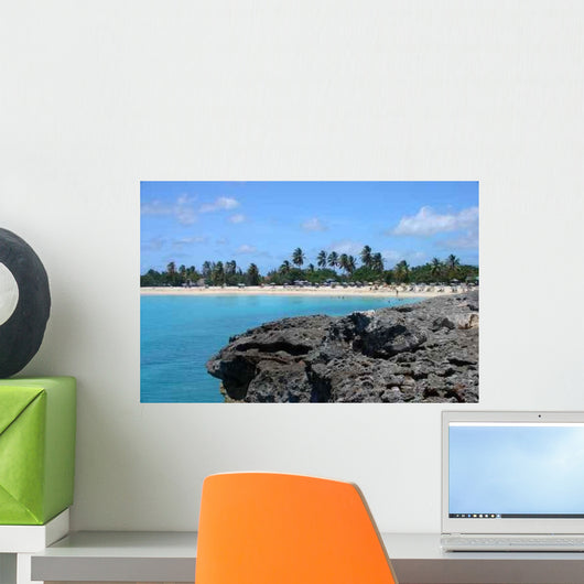 Mullet Bay Wall Decal
