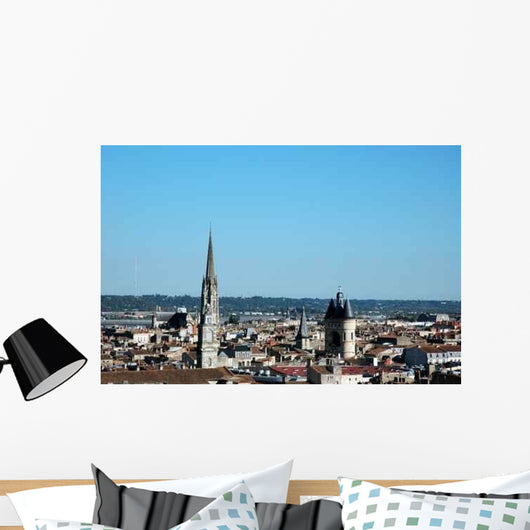 City Bordeaux Wall Decal