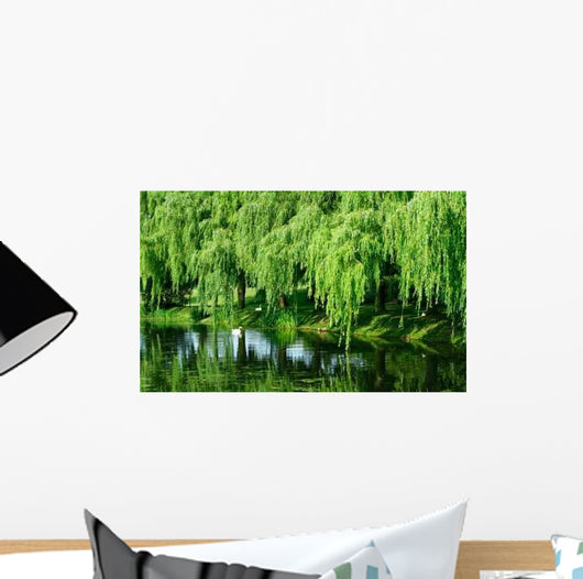 Weeping Willows Wall Decal