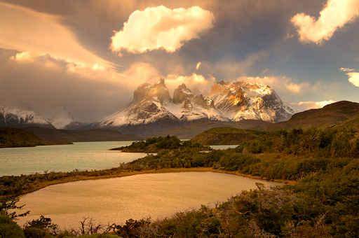 Torres Del Paine Wall Decal Design 4