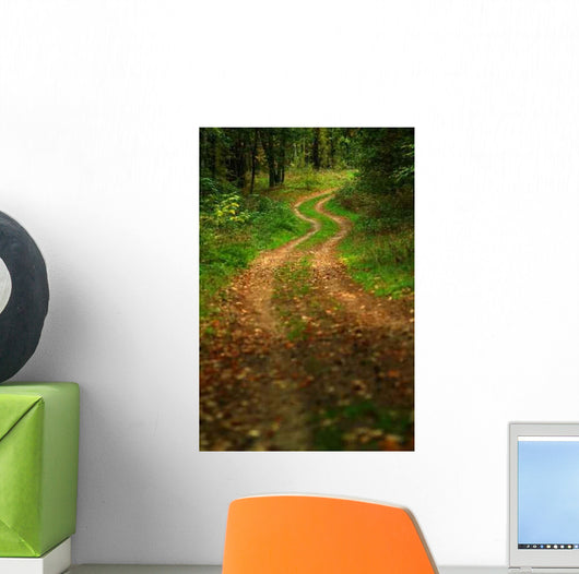 Forest Road Wall Decal Design 2