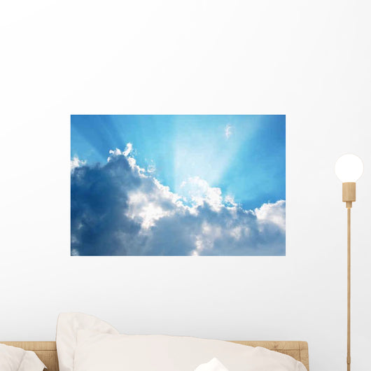 Clouds and Blue Sky Wall Decal