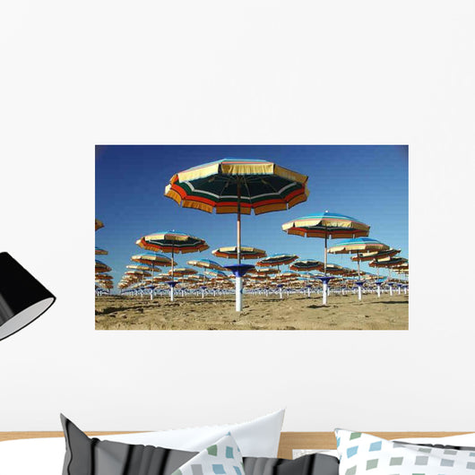 Beach Umbrella 2 Wall Mural