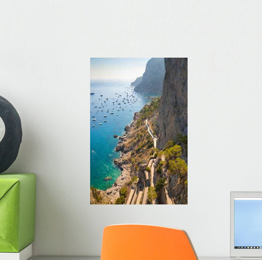 Beautiful Tropical Coast Wall Mural