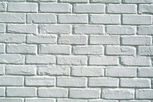 White Brick Wall Background Wall Mural