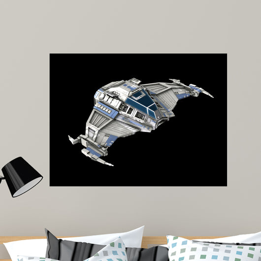 spaceship Wall Mural