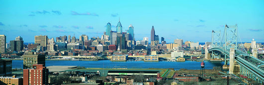 Philadelphia Skyline 1 Wall Decal