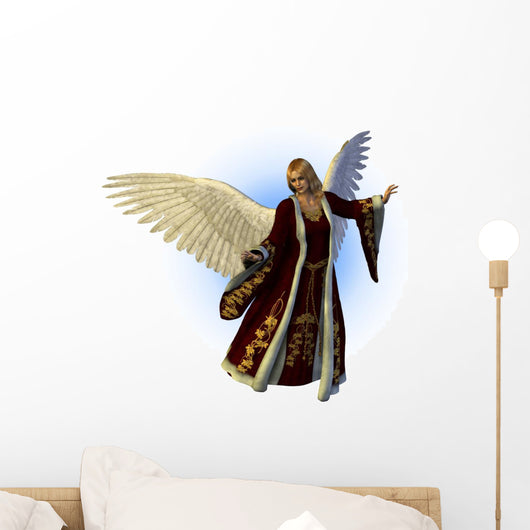 Christmas Angel Wall Decal