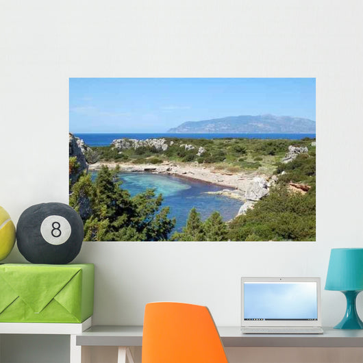 Bay to Pianosa Wall Decal