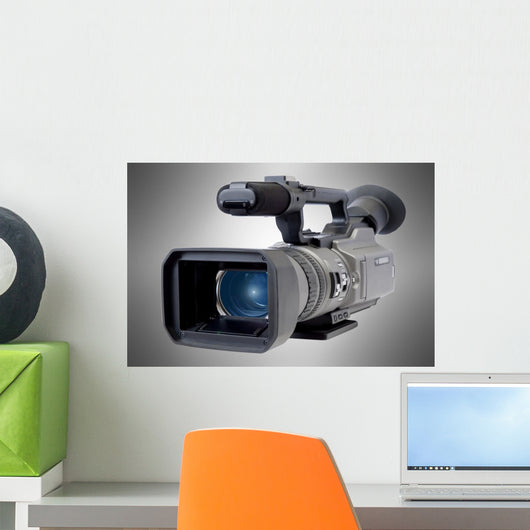 Videocamera Wall Mural