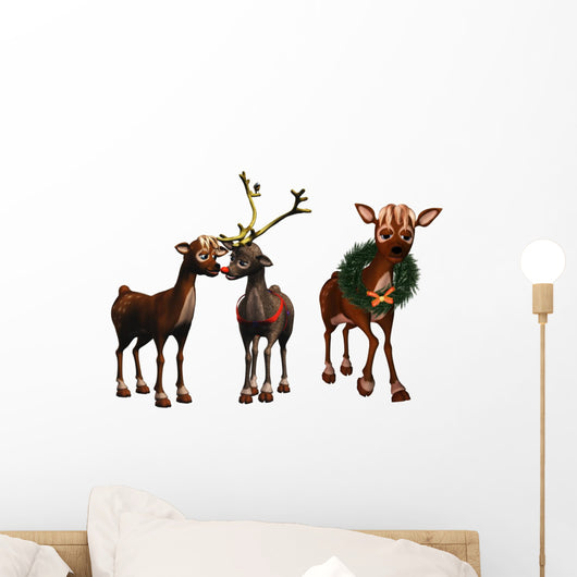 Rudolph and Rhonda Wall Decal