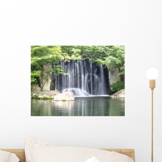 zen waterfall Wall Mural