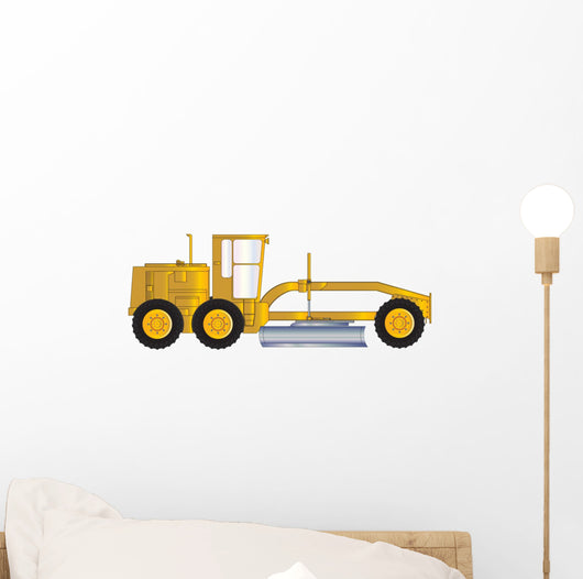 ROAD GRADER Wall Decal