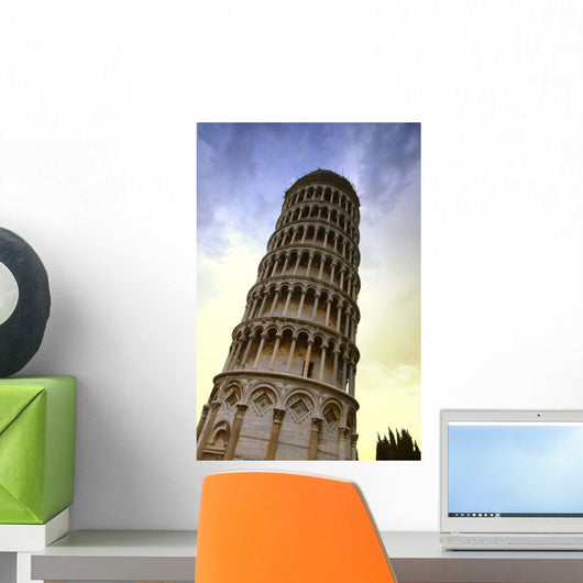 The Leaning Tower Of Pisa Tuscany Italy Wall Mural
