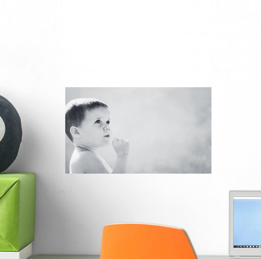 Expression Of A Child Wall Mural