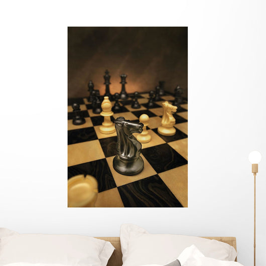 The Black Knight Wall Mural