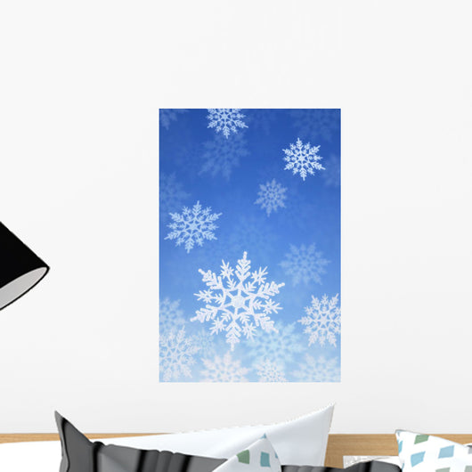 Snowing Wall Mural