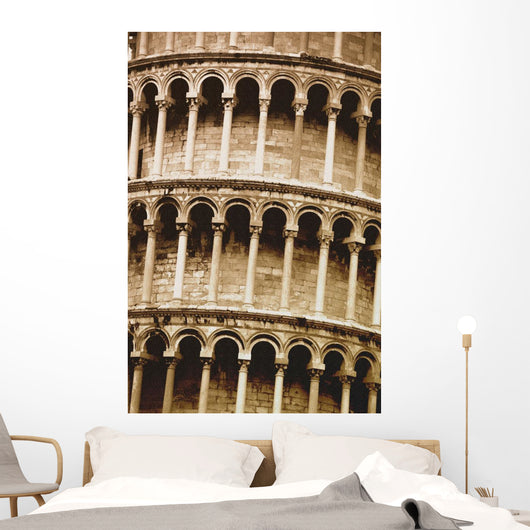 Leaning Tower Of Pisa Tuscany Italy Wall Mural