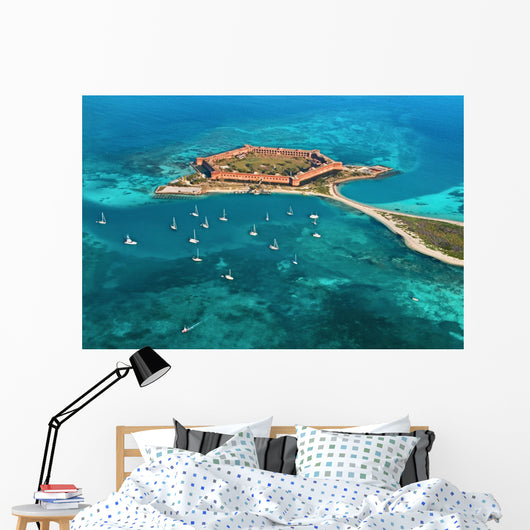 fort jefferson - dry tortugas national park Wall Mural