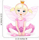 Little Fairy Ballerina Wall Decal