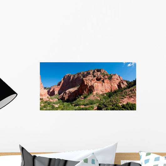 Kolob Canyon Panorama Zion Wall Mural