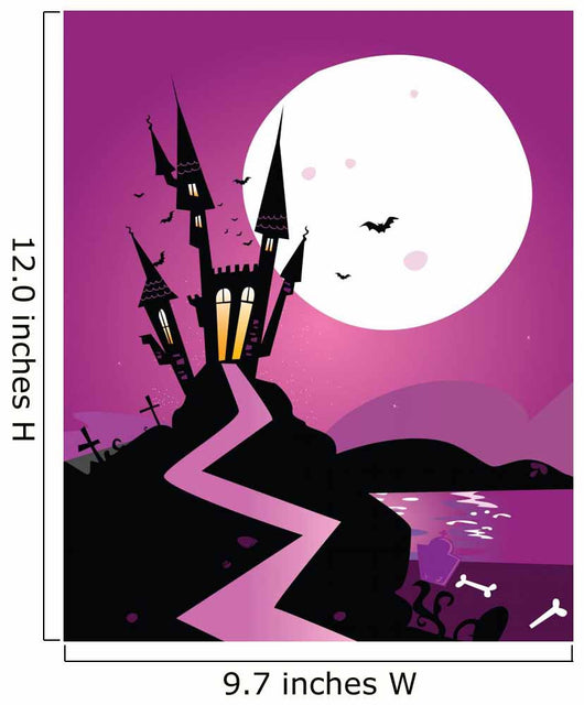 Haunted Scary Castle Vector