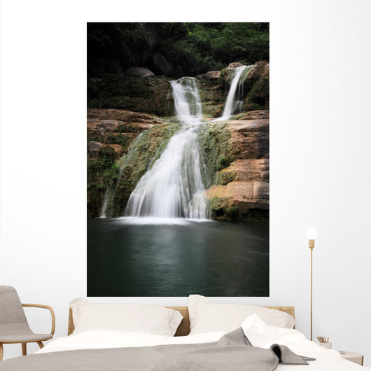 Water Falls and Cascades Wall Mural