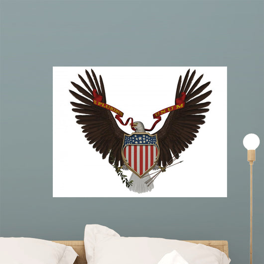 US Americana Symbol Wall Decal