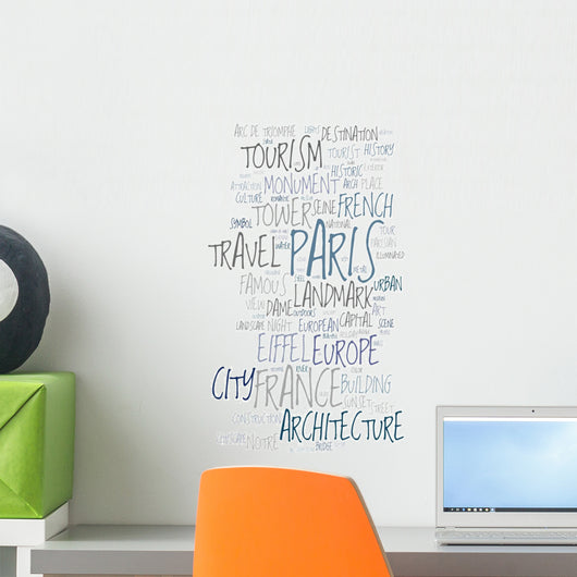 Extravagant Paris Wall Decal