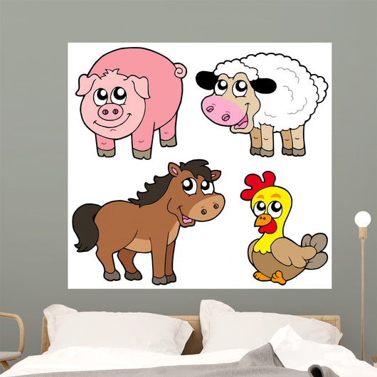 Cute Country Animals Collection