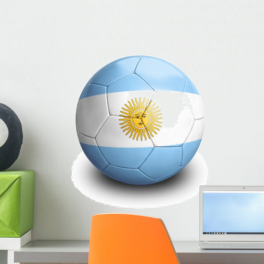 Soccer Football Argentina Wall Decal