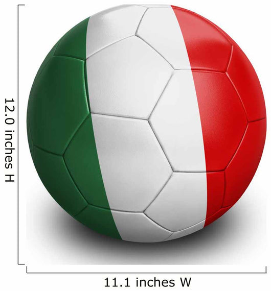 Soccer Football Italy Wall Decal
