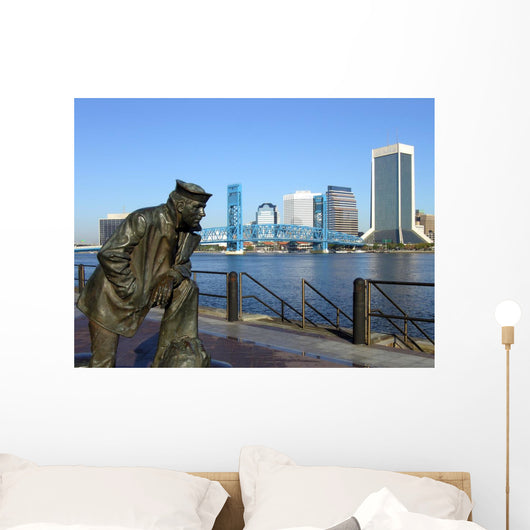 Sailor and Jax Skyline Wall Mural