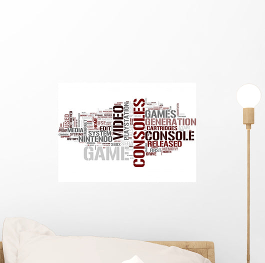Game Console Wall Decal