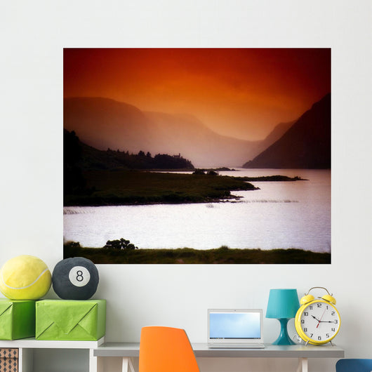 Derryveagh Mountains, Glenveagh National Park, Co Donegal, Ireland Wall Mural