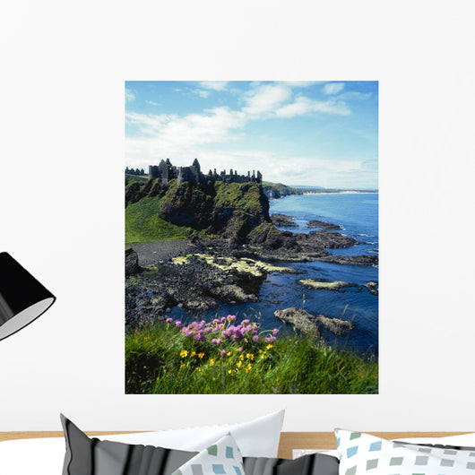 Dunluce Castle, Co Antrim, Ireland Wall Mural