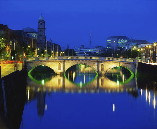 Queen's Street Bridge, River Liffey, Dublin, Ireland Wall Mural