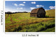 Old Barn In A Field Wall Mural